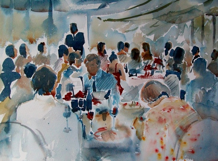 A typical wedding painting
