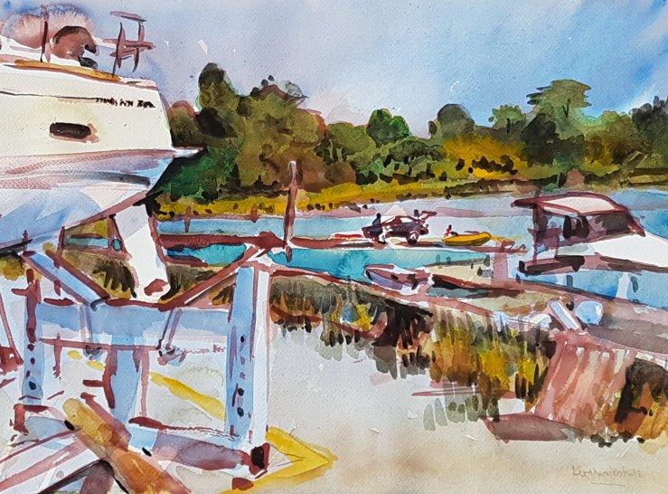 Kirstin White - Swanwick Marina
